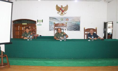 Kunjungan Studi Banding Fakultas Hukum Universitas Negeri Gorontalo ke Pengadilan Militer III-17 Manado