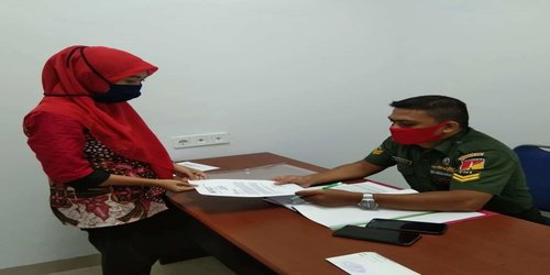 Survey Kepuasan Masyarakat  oleh Pengadilan Militer Manado