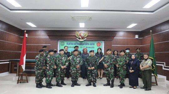 Pelantikan dan Penyumpahan Wakadilmil III-17 Manado