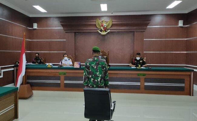 Pengadilan Militer III-17 Manado Gelar Sidang Perkara Perdagangan