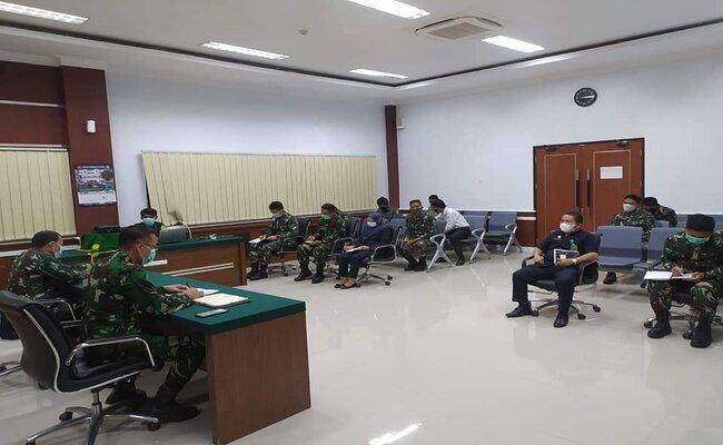 Sosialisasi Zona Integritas dan Rapat Monev  Pengadilan Militer III-17 Manado